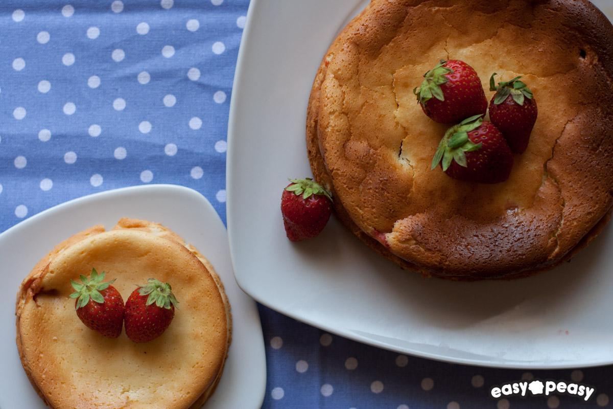 Cheesecake al forno