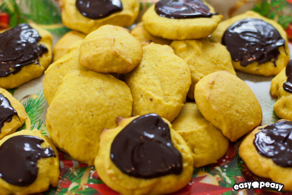 Biscotti morbidi alla zucca