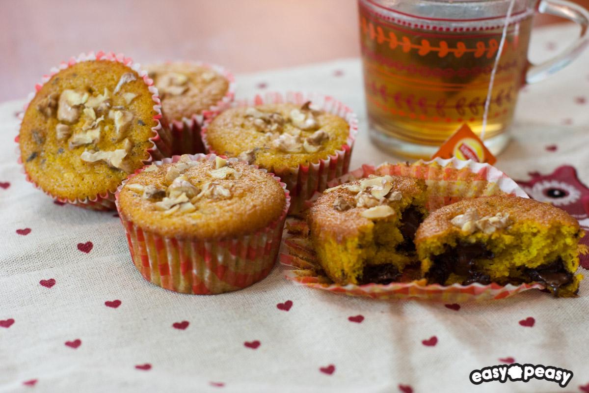 Muffin ciocco-zucca!