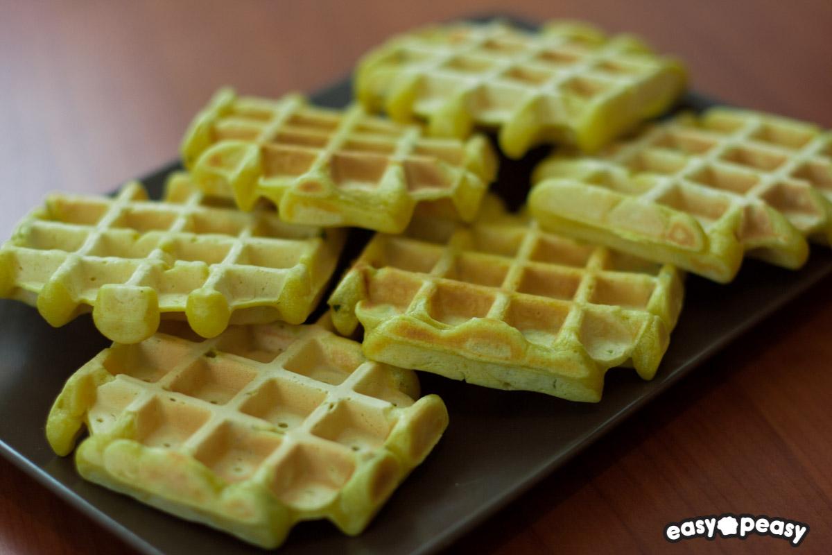 Waffle salati