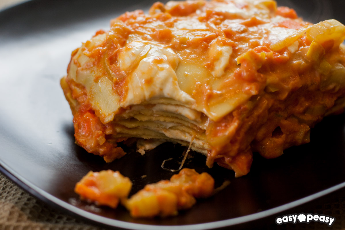 Lasagna ceci