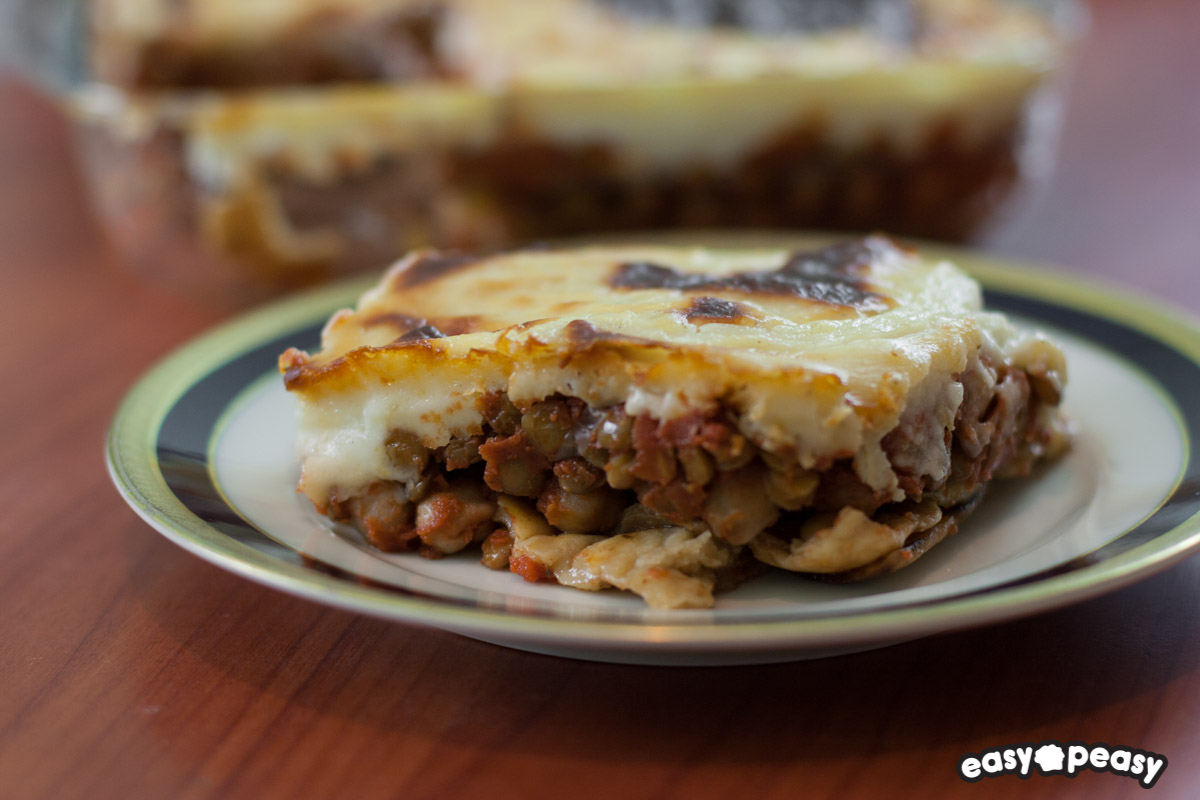 Moussaka vegetariana!