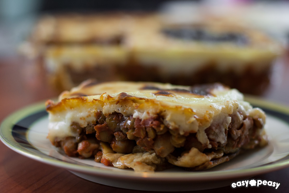 Moussaka vegetale