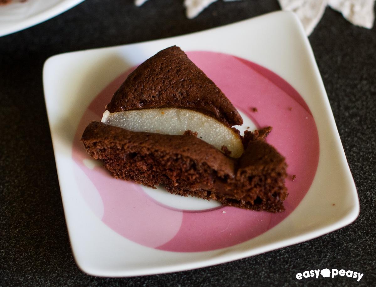 Torta pere e cioccolato!