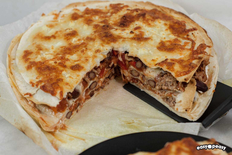 Millefoglie tortilla