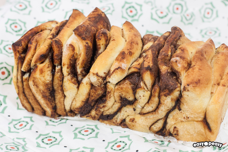 Nutella Pullapart bread