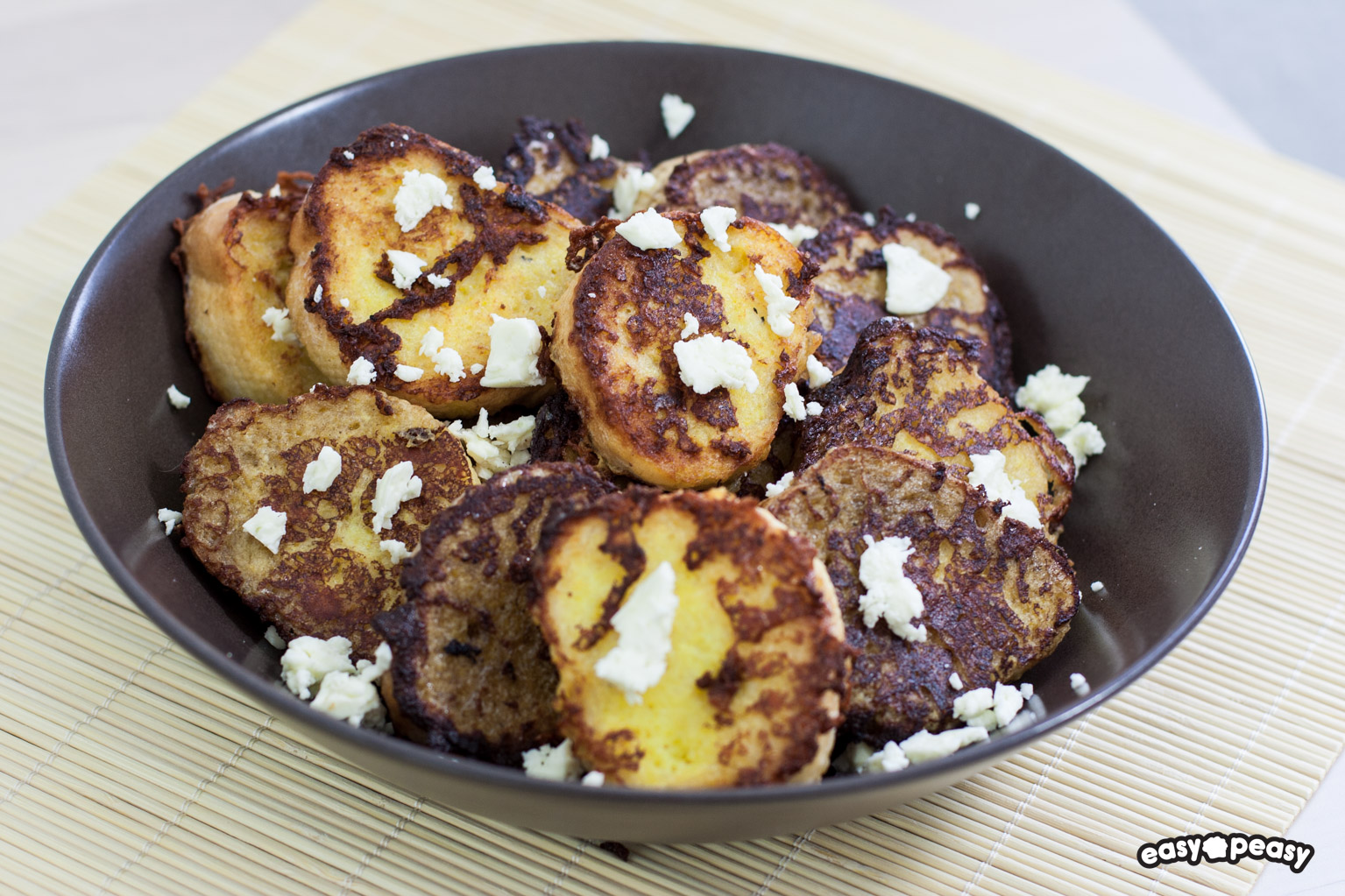 French toast feta