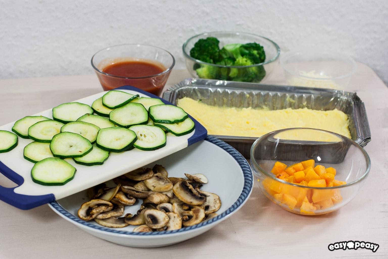 Polenta e verdure