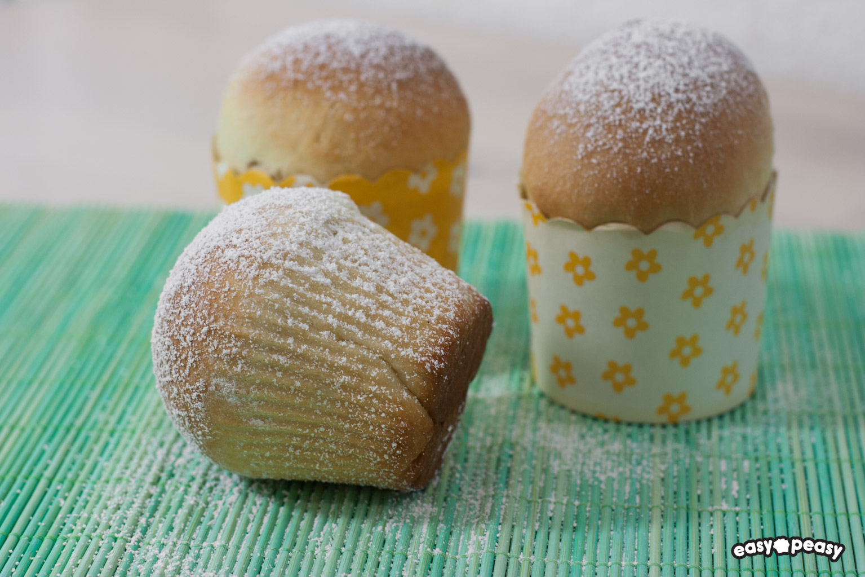 Muffin pandoro!