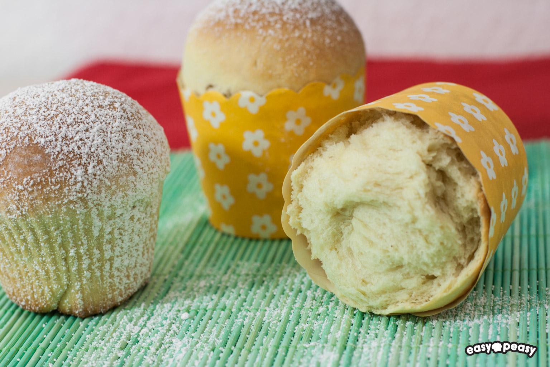 Muffin pandoro