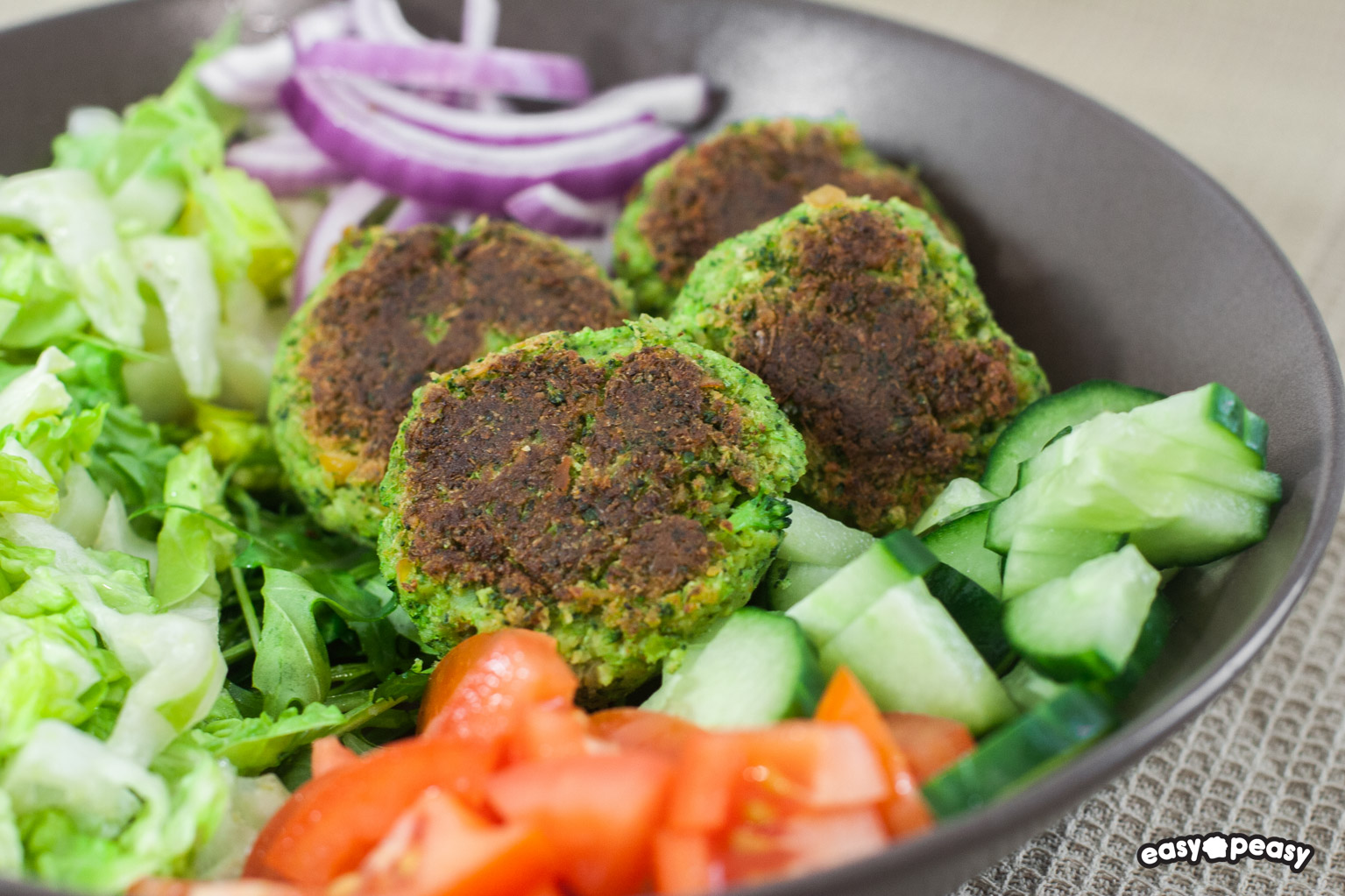 Felafel broccoli