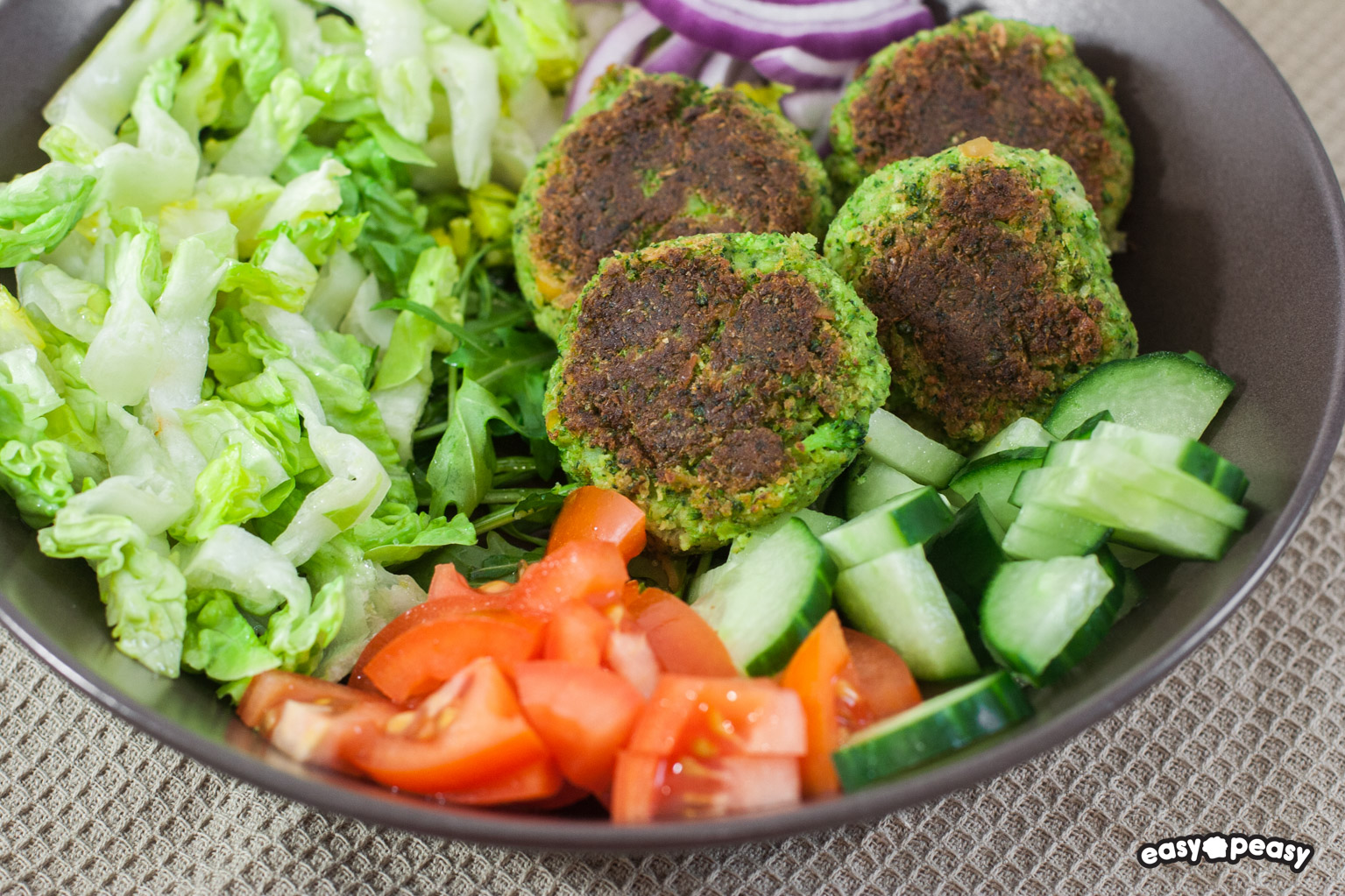 Felafel di broccoli.