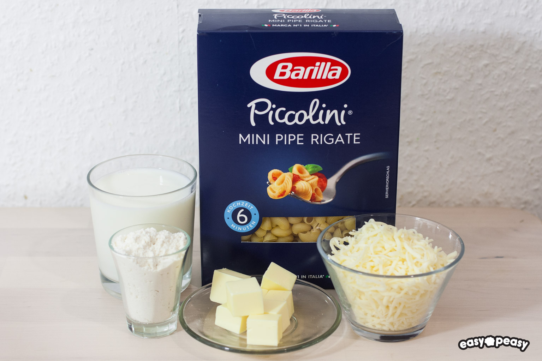 Piccolini and cheese