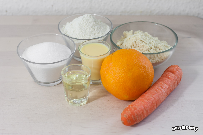 Torta carote mandorle