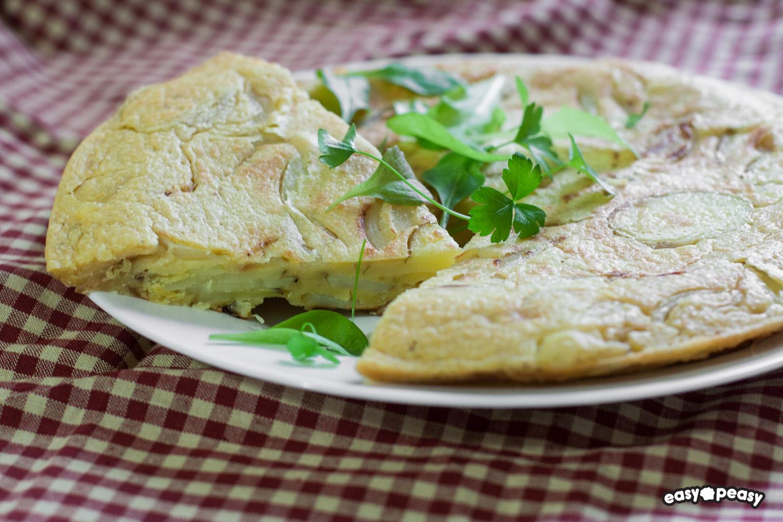 Tortilla senza uova!