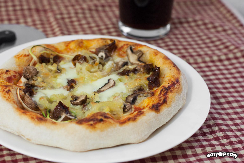 La pizza!