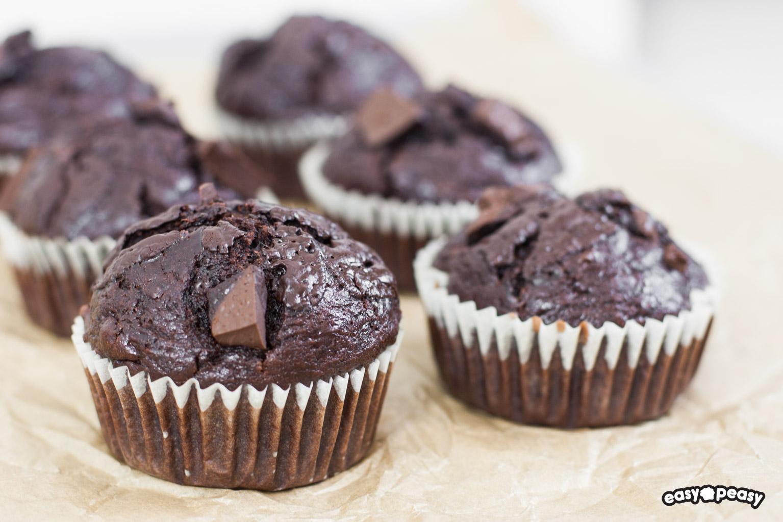 Muffin ciocco-banana!